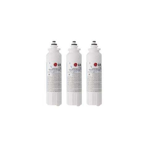 Replacement Water Filter for LG LSXS26326S Refrigerator Water Filter (3 Pack)