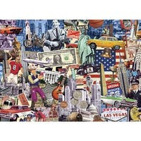 1000 Piece Jigsaw Puzzle - Best of the USA