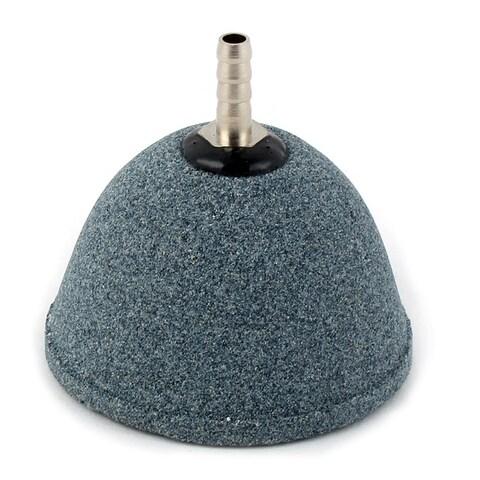 """Aquarium Fish Tank Carborundum Bubbles Airstone Air Stone Dark Gray 2.3"""" Dia"""