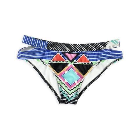 Aeropostale Womens Printed Cheeky Bikini Swim Bottom