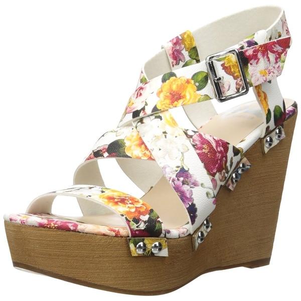 Fergalicious Womens Libby Open Toe Casual Platform Sandals