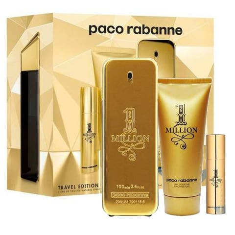 Paco Rabanne One Million Gift Set 3.4 oz 100 ml