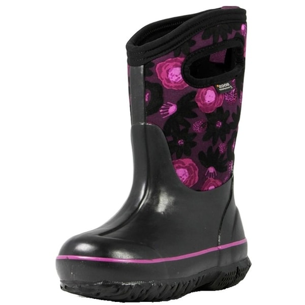 986a039b126 Bogs Boots Girls Kids Classic Watercolor Insulated Waterproof