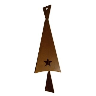 Patina Products B355 Large Celestial Triangle Bell