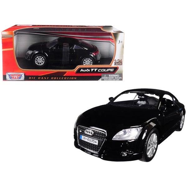 Audi TT Coupe Black 1/24 Diecast Model Car by Motormax - 1/24 Diecast Model