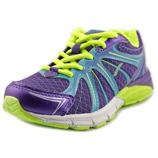 La Gear True Youth Round Toe Canvas Purple Tennis Shoe