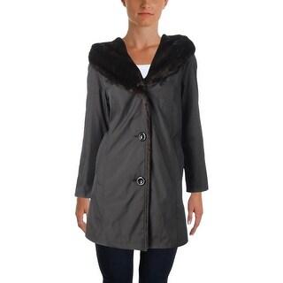 Gallery Womens Petites Parka Coat Winter Anorak