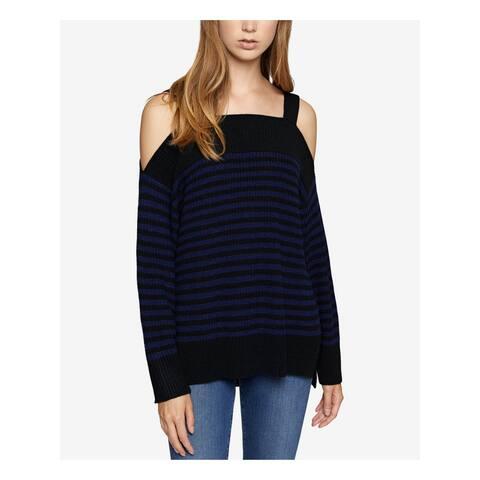 SANCTUARY Womens Blue Striped Long Sleeve Sweater Size XS