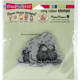 Stampendous House Mouse Cling Stamp -Shower Of Love