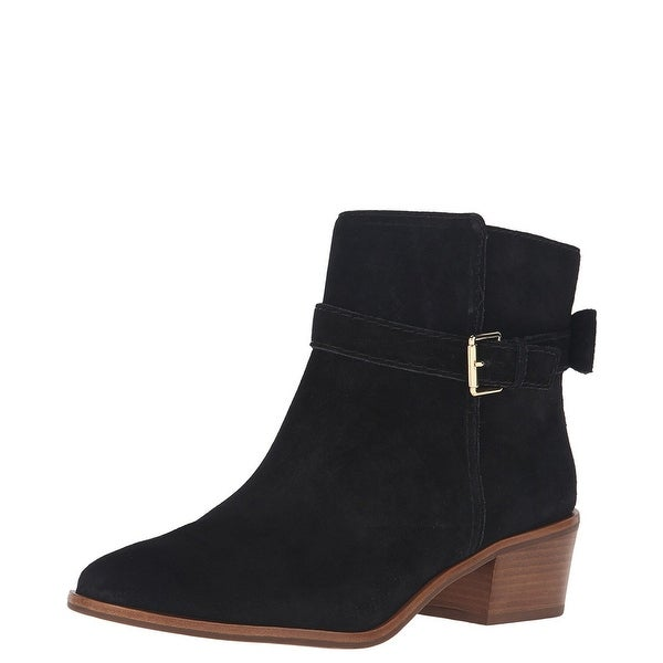 Kate Spade New York Taley Suede Ankle Bootie Boots Shoes - 9.5 b(m)