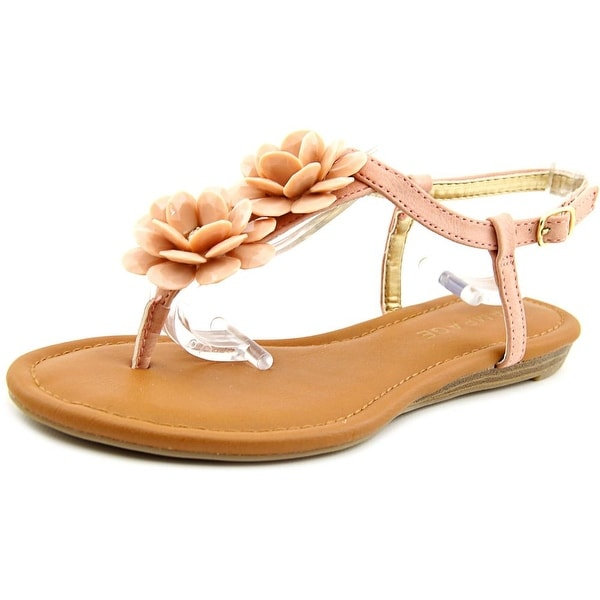 Rampage Dandylion Women Open-Toe Synthetic Pink Slingback Sandal