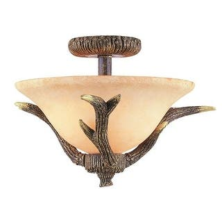 Trans Globe Lighting 7087 Two Light Down Lighting Semi Flush Ceiling Fixture from the Country Style and Antlers Collection|https://ak1.ostkcdn.com/images/products/is/images/direct/67080e1850c9d2a8e0d6e7af7b21c8b42f5f6ebe/Trans-Globe-Lighting-7087-Two-Light-Down-Lighting-Semi-Flush-Ceiling-Fixture-from-the-Country-Style-and-Antlers-Collection.jpg?impolicy=medium