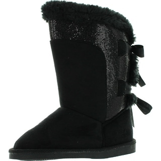 Northside Girls Tia Fashion Faux Suede Boots