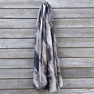 Mad Style Grey MulticolorDiamond Scarf