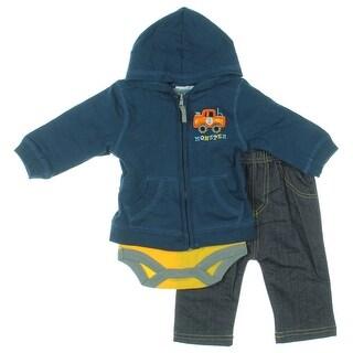 Bon Bebe Infant 3PC Pant Outfit - 0-3 mo
