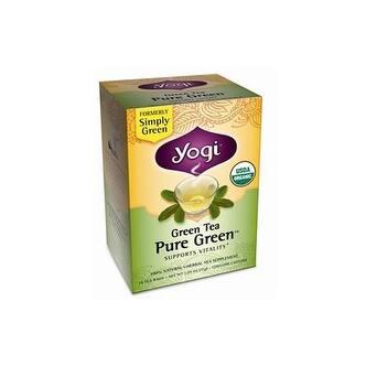 Yogi - Pure Green Green Tea ( 4 - 16 BAG)