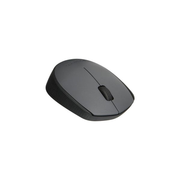 Logitech M170 Usb Wireless Optical Mouse, Ash Gray (910-004425)