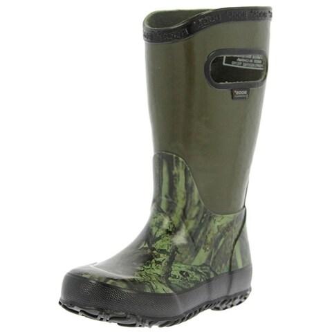 Bogs Boots Boys Kids Classic Rainboot Hunting WP Camo