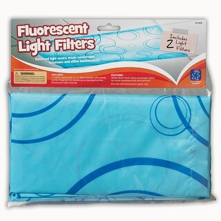 Fluorescent Light Filters 2Pk