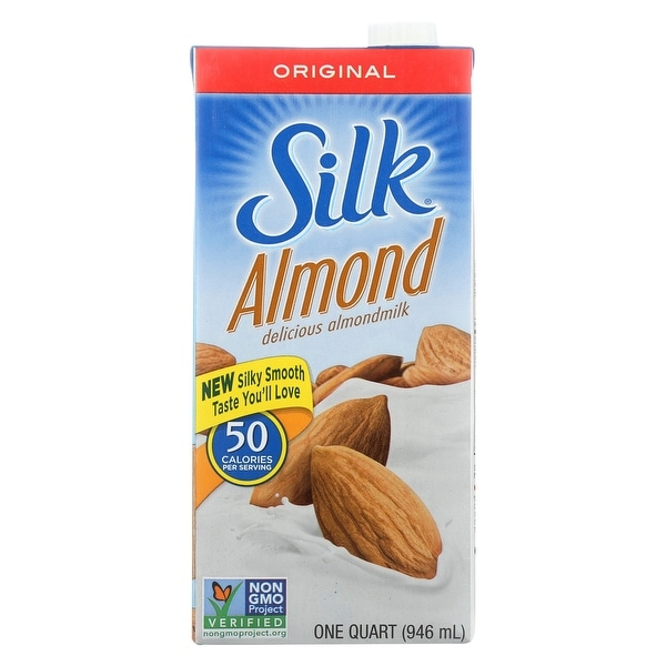 Silk Pure Almond Milk - Original - Case of 6 - 32 Fl oz.