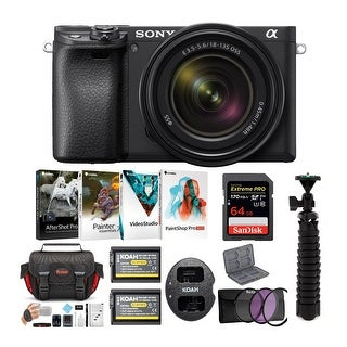 Link to Sony a6400 Mirrorless Digital Camera with 18-135mm Lens Bundle Similar Items in Digital Cameras