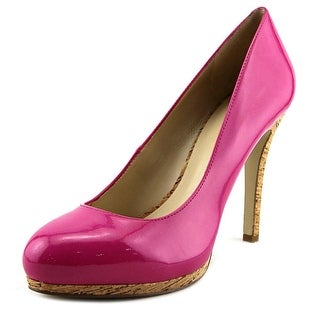 Nine West Selma Women  Open Toe Synthetic Pink Platform Heel