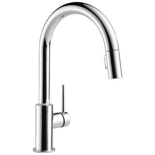 Delta 9159-LS-DST Trinsic 1.8 GPM Single Hole Pull Down Kitchen Faucet