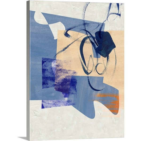 """Night Fragment IV"" Canvas Wall Art"