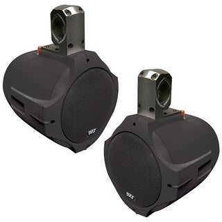 PYLE PLMRB85 8-Inch 300-Watt 2-Way Wakeboard Speakers (Black)