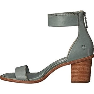 Frye Womens Brielle Leather Ankle Strap Dress Sandals - 7.5 medium (b,m)