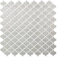 BeausTile Decorative Cairo 4-piece Decorative Adhesive Faux Tile Sheets