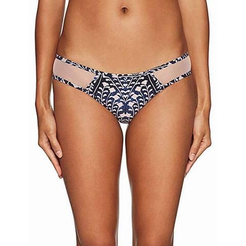 Rip Curl Nude Women's Bikini Bottom Floral Mesh Swimwear