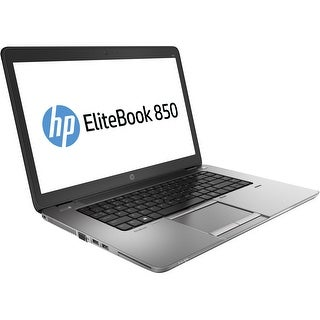 "HP EliteBook 850 G1 15.6"" Laptop Intel Core i5-4300U 1.90GHz 4GB 500GB Win8"