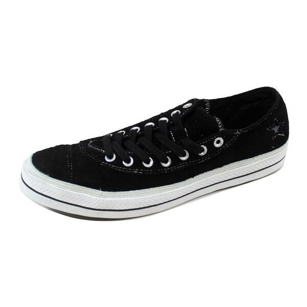 Converse Men's Chuck Taylor Asymetrical OX Black/White 118554 Size 12