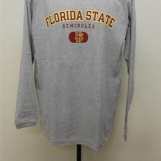FLORIDA STATE SEMINOLES Adult Mens L-XL LONG SLEEVE Shirt