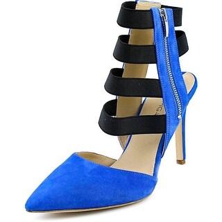 Via Spiga Damali Open Toe Suede Sandals
