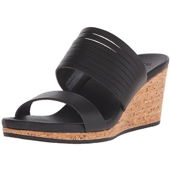 Shop Teva Womens Arrabelle Wedge Sandals Leather Cork