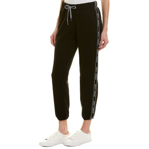 Betsey Johnson Performance Logo Tape Sweatpant