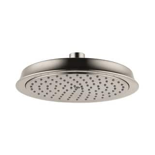 hansgrohe rain shower head. Hansgrohe 4722000 Raindance 2 0 GPM Single Function Rain Shower Head with  Air Power Technology Heads For Less Overstock com