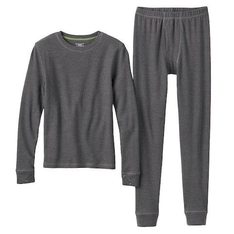 Boys' ClimateSmart Thermal Long Sleeve Crew Pants Set - X-Small