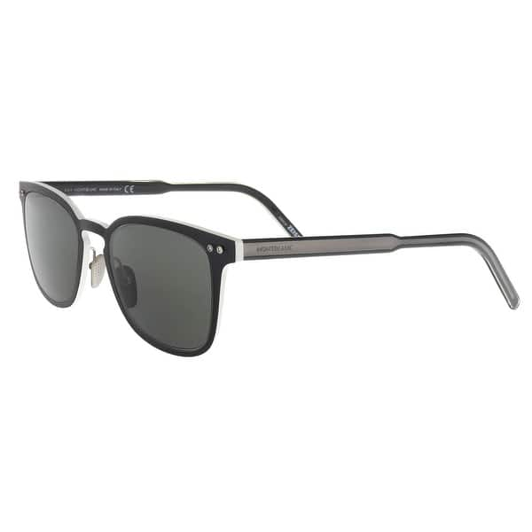 6e0ec47c74b Shop Montblanc MB584 S 02A Black Cat Eye Sunglasses - 51-20-145 ...