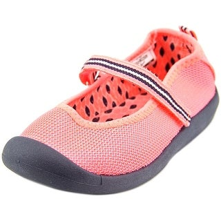 Osh Kosh Brookie-G Youth Round Toe Canvas Pink Mary Janes