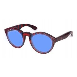 Specs of Wood Eyewear Smart Blue Blue/Red Polarized Blue Sunglasses