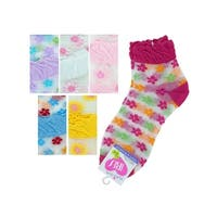 Mid Cut Flowers Socks - Pack of 36