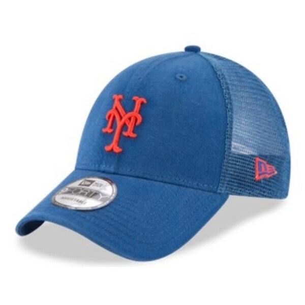 Shop New Era MLB New York Mets Baseball Hat Cap 940 Trucker Snapback ... 94fee64f9021