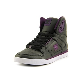 DC Shoes Rebound High WNT Women Round Toe Leather Skate Shoe