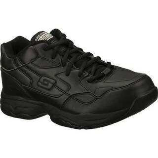 Skechers Women's Work Relaxed Fit Felton Albie SR Black