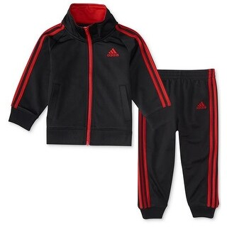 Adidas Toddler Boys 2T-4T Tricot Jogger Set