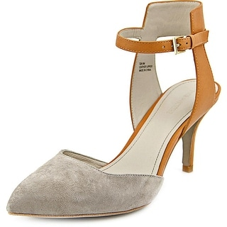 Pour La Victoire Gia Pointed Toe Leather Slingback Heel