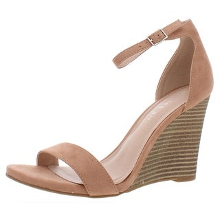 Link to Madden Girl Womens Willow Wedges Solid Ankle Strap Similar Items in Women's Shoes